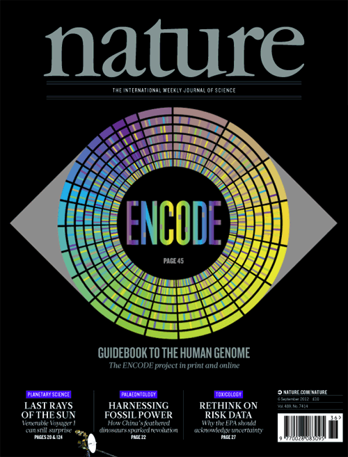 Circos tutorial image - Nature Cover Encode Diagram